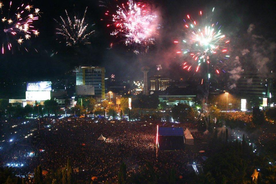 Malam Tahun Baru 2014 di Semarang